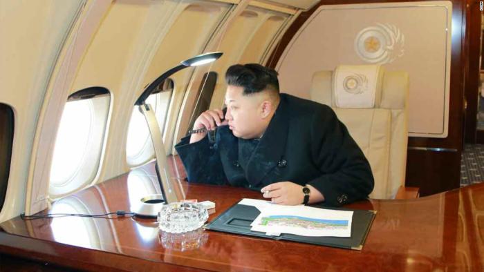 Kim Jung-Un Private Jet 2