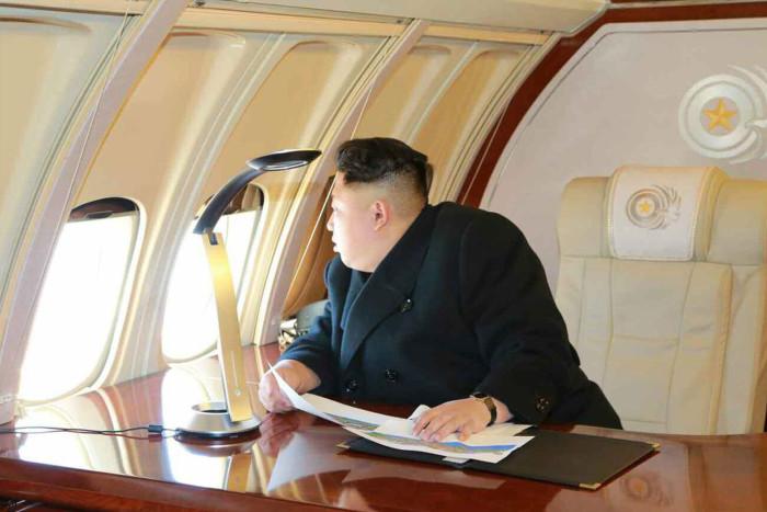 Kim Jung-Un Private Jet 6