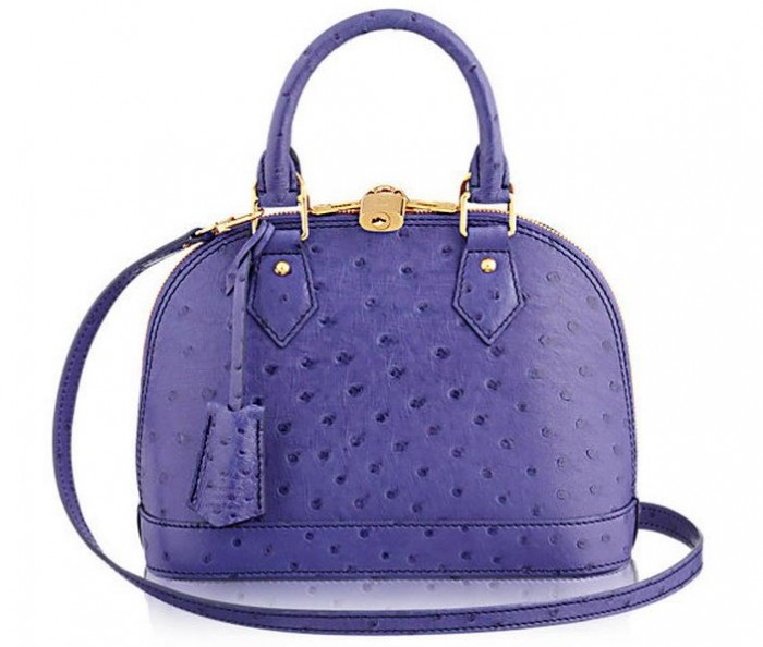 Louis Vuitton - Alma Bag in Ostrich Leather
