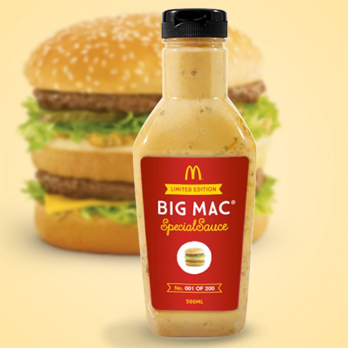 McDonalds Big Mac Special Sauce 1