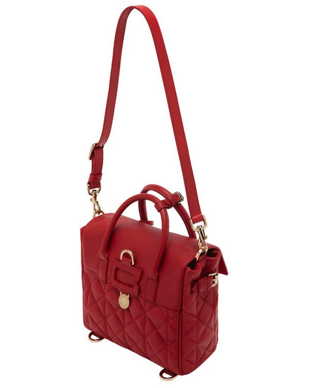 Mulberry Mini Cara Delevingne Bag Poppy Red 1