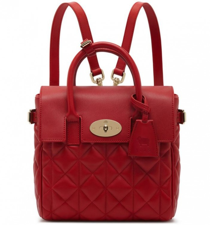 Mulberry Mini Cara Delevingne Bag Poppy Red 2