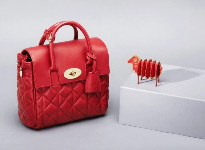 Mulberry Mini Cara Delevingne Bag Poppy Red 4