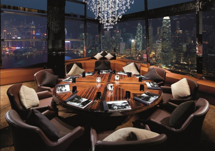 Ozone Sky Bar At Ritz Carlton HK 3