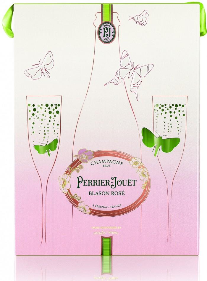 Perrier-Jouët Blason Rosé Small Discoveries Gift Set 2