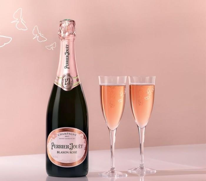 Perrier-Jouët Blason Rosé Small Discoveries Gift Set 3