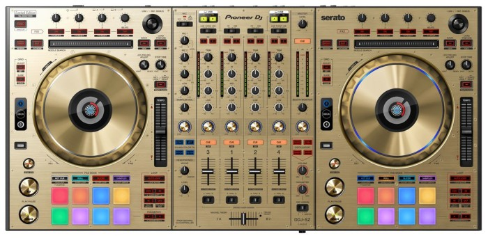 Pioneer DDJ-SX Gold Edition DJ Controller 1
