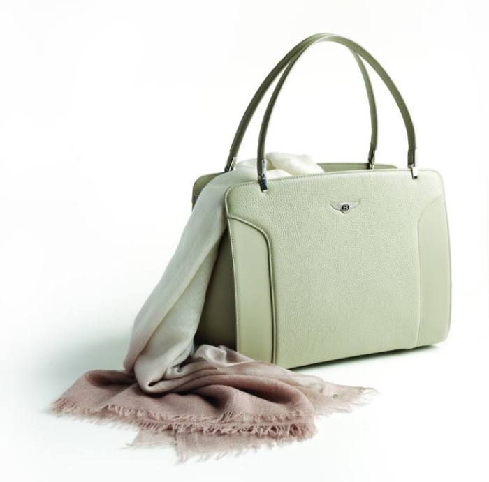 Bentley Cashmere Scarf and Bag 1