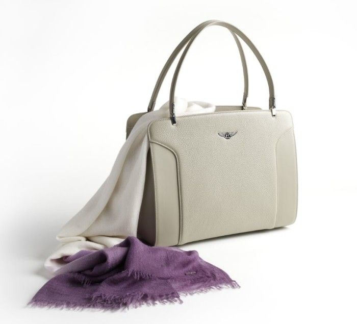 Bentley Cashmere Scarf and Bag 2