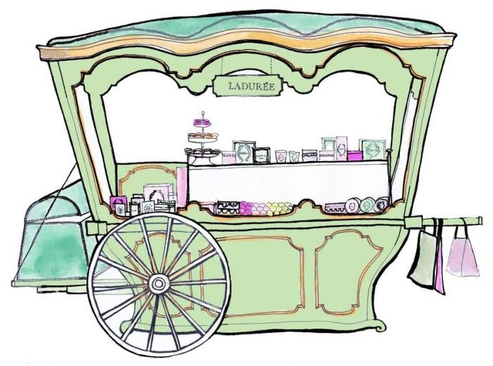 Bloomingdales Ladurée Carriage