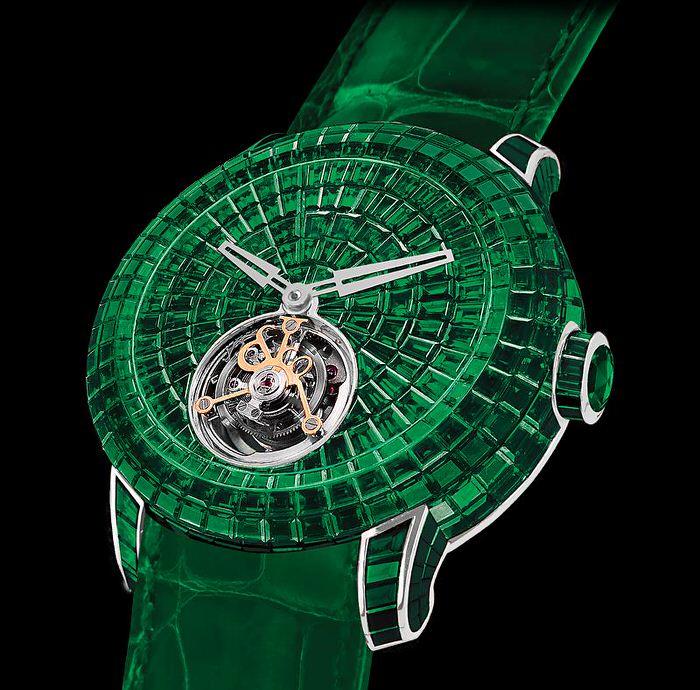 Caviar Emerald Tourbillon