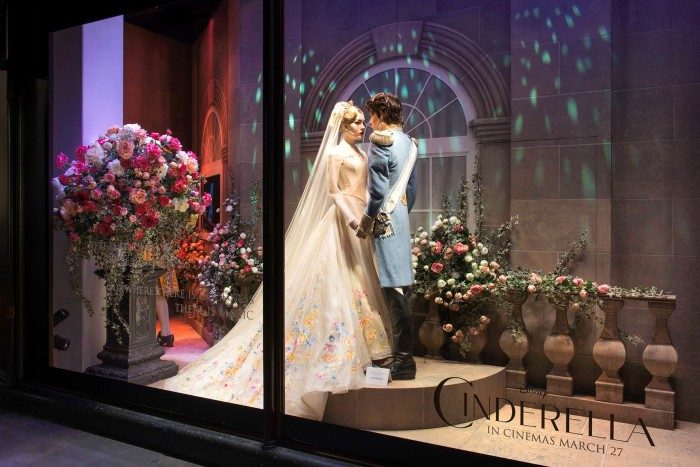 Cinderella Harrods Windows 2