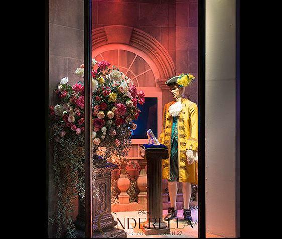 Cinderella Harrods Windows 3