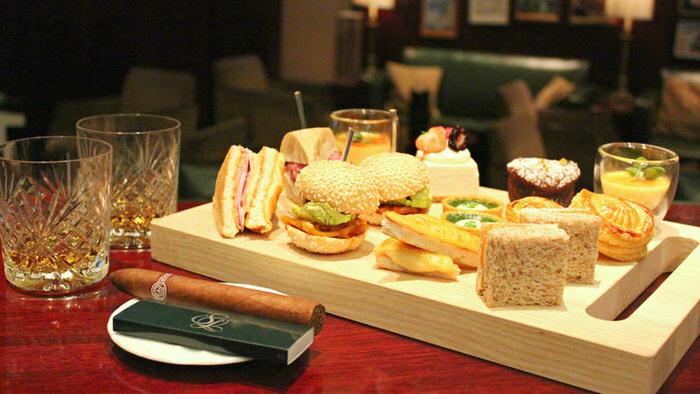 Gentleman's Afternoon Tea At Strafford 1