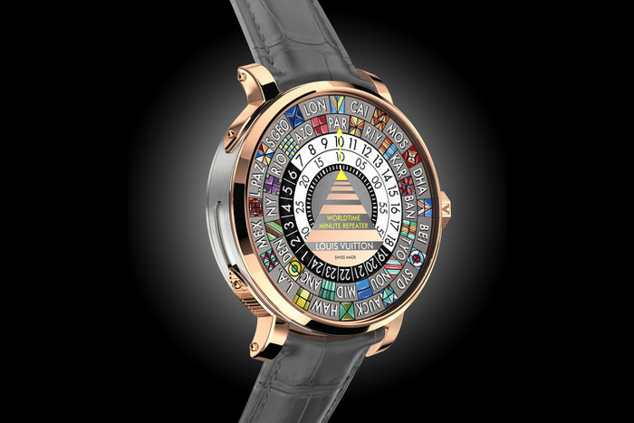 ouis Vuitton Escale Worldtime Minute Repeater