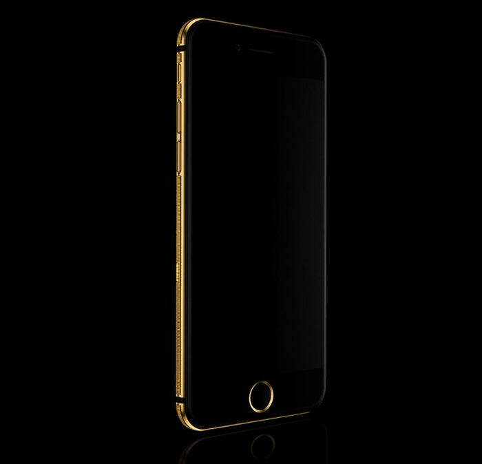 Mana Skull Solid Gold iPhone 6