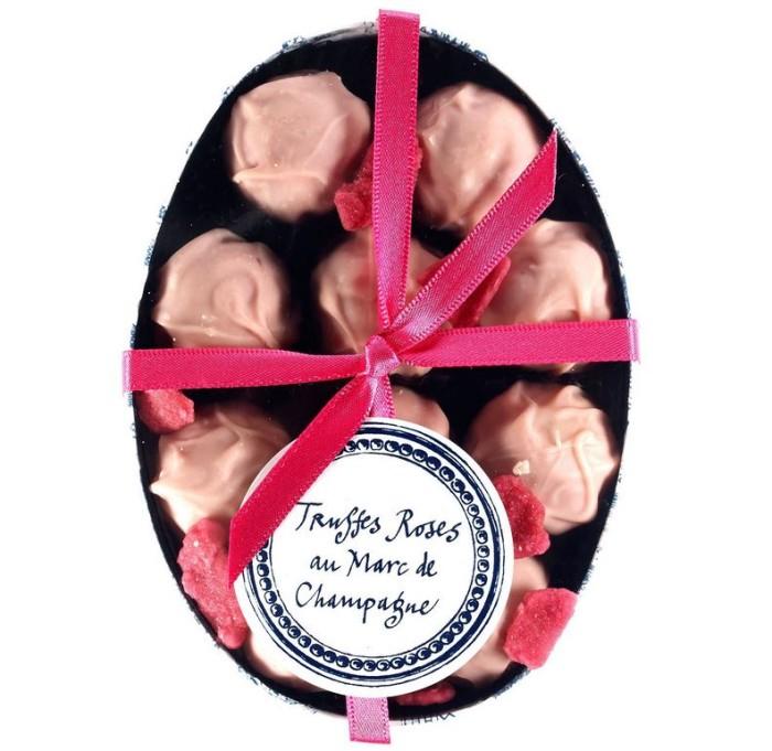 Rococo Chocolate Truffles Roses Au Marc 4