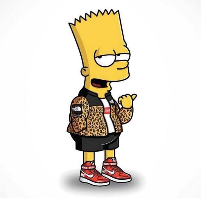 Simpson's Streetwear Bart 1