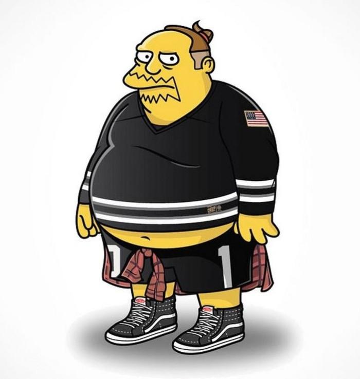 Simpson's Streetwear Comic Book Guy 5