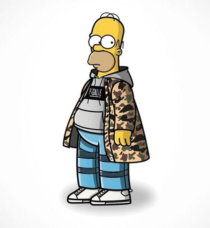 Simpson's Streetwear Homer2