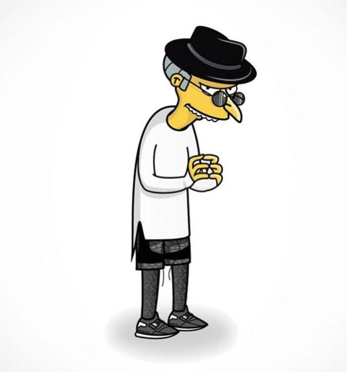Simpson's Streetwear Mr. Burns 6