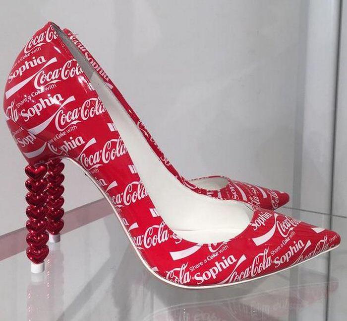 Sophia Webster CocaCola Shoe