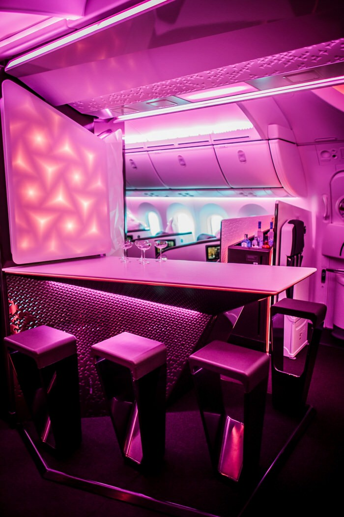 Virgin 787 Dreamliner