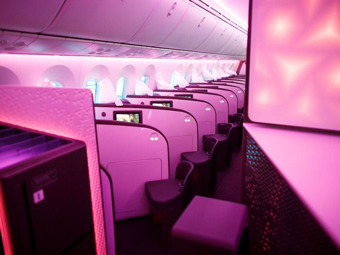 Virgin 787 Dreamliner 5