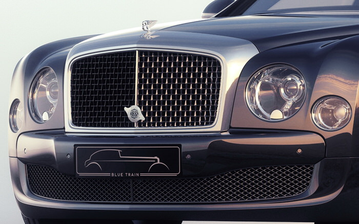 Bentley Blue Train by Mulliner