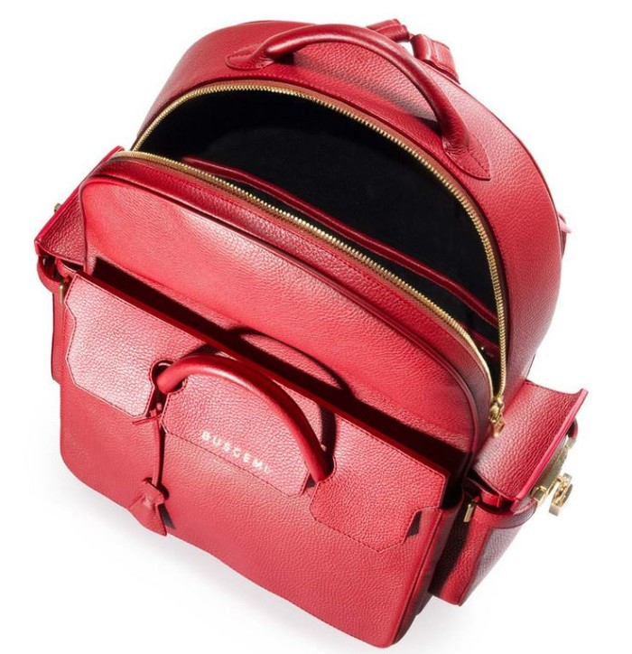 Buscemi PHP Backpack Amaranto Red