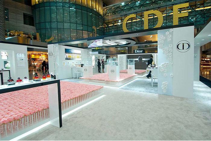 Dior Rose Garden Doha Airport