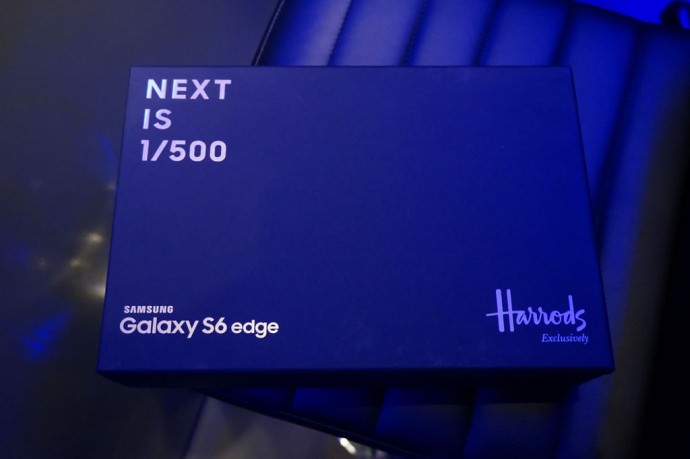 Harrods S6 Edge Gold Edition