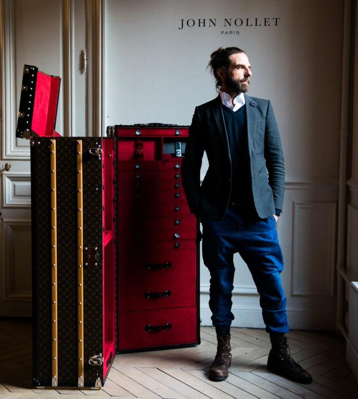 John Nollet Louis Vuitton Hair Trunk