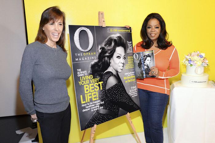 Oprah O Magazine 15 Anniversary