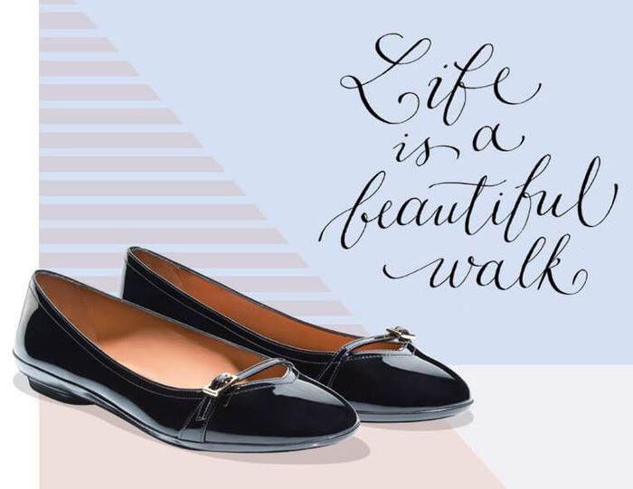 Ferragamo Ballerina Shoe