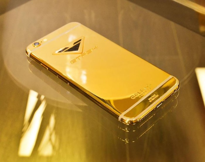 Vorsteiner iPhone6 Gold