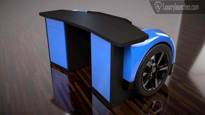 Bugatti Veyron Office Desk