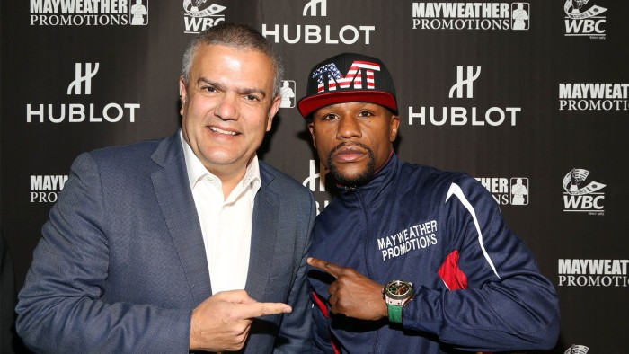 Hublot King Power WBC Full Pavé