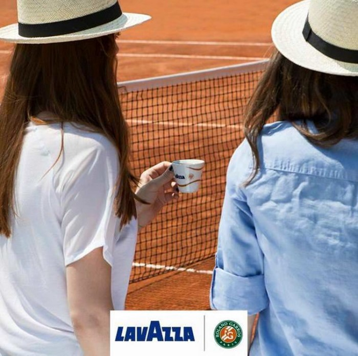 Lavazza Coffee At French Open