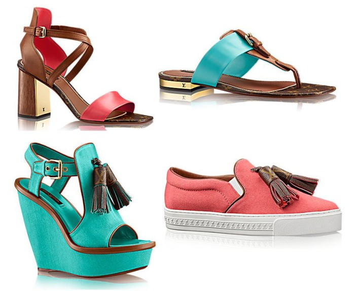 Louis Vuitton Summer 2015 Ladies Shoes