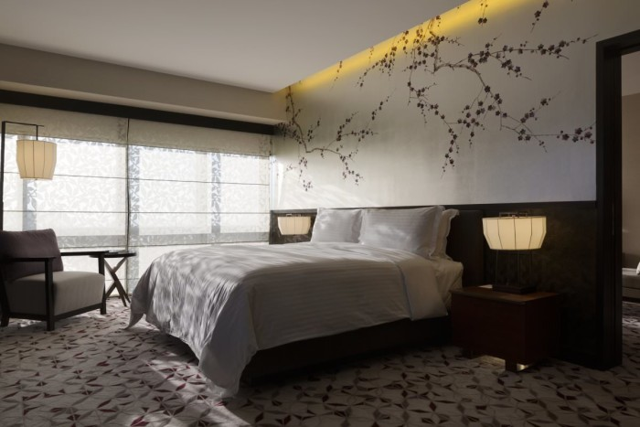Nobu Manila Suite with Cherry Blossoms