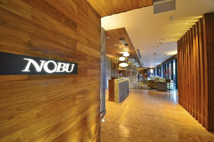 Nobu Manila Entrance