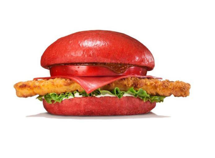 Aka Samurai Chicken Burger