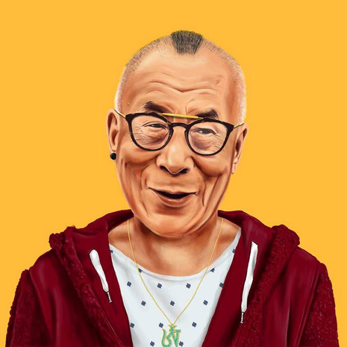 Amit Shimoni Hipstory Dalai Lama