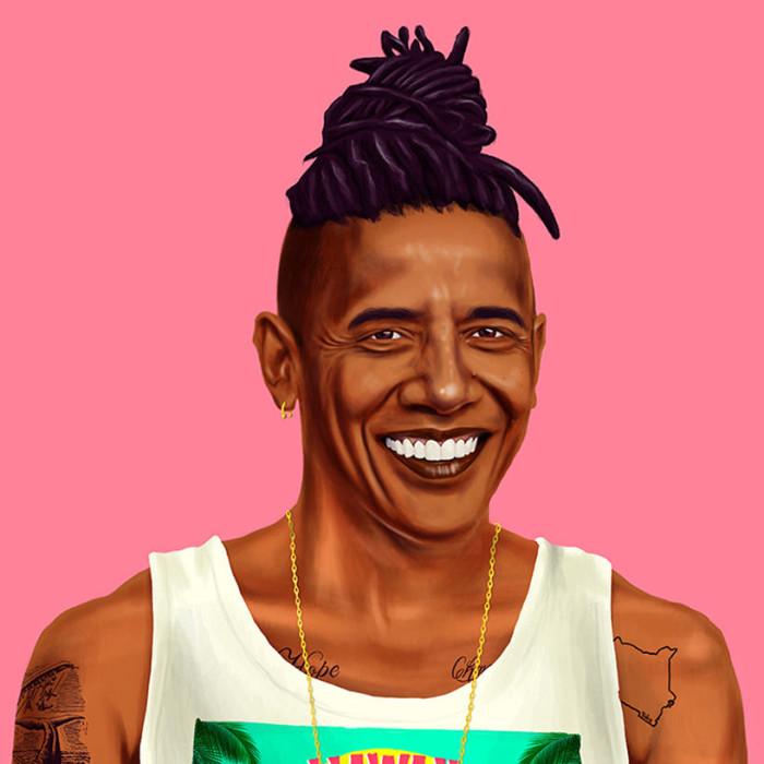 Amit Shimoni Hipstory Obama