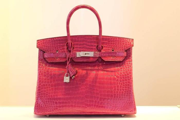 Hermès Birkin Crocodile Fuschia Christies