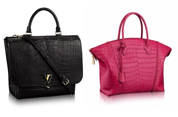 Louis Vuitton Exotic Bags