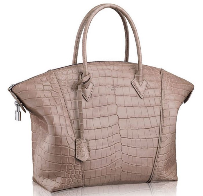 Louis Vuitton Lockit PM Taupe