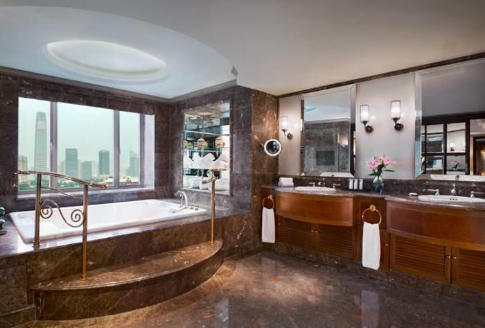 St Regis Beijing Presidential Suite Bathroom