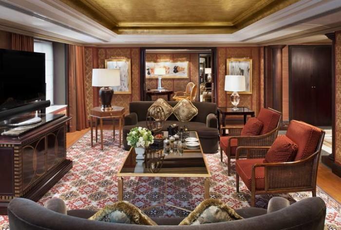 St Regis Beijing Presidential Suite Living Room